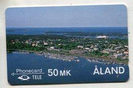 TK 00613 ALAND ISLAND - 2FIND... Town - Aland