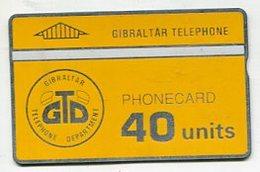 TK 00615 GIBRALTAR - L&G 909A... 40 Units MINT - Gibraltar
