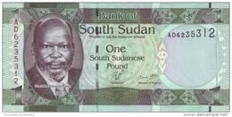 SOUTH SUDAN 1 POUND ND (2011) P-5 UNC  [ SS101a ] - Zuid-Soedan