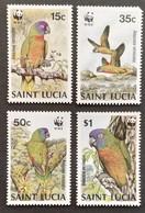 St.Lucia  1987 Amazonian Parrots - St.Lucia (1979-...)