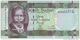 SOUTH SUDAN 1 POUND ND (2011) P-5a UNC  [SS105a] - Südsudan