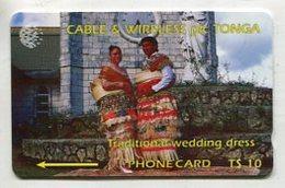 TK 00626 TONGA - 1CTGB.../B Tradtional Wedding Dress - Tonga