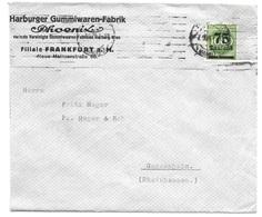 """Iserloh - Deutsches Reich - Lettre - """"F. W. Schulte, Iserloh - ... Metallwarenfabrik"""" Vers Mainz, Mi. 228; 1922 - Allemagne"""