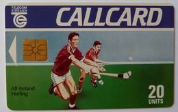 IRELAND - CallCard - Chip - Hurling - College Green - 20 Units - Mint - Irlanda