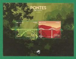 Portugal / Madeira  2018 , EUROPA CEPT Pontes - Sheet / Block - Gestempelt / Used / (o) - 2018