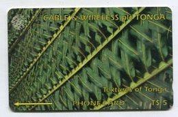 TK 00631 TONGA - 285CTGA.../B Textures Of Tonga - Tonga