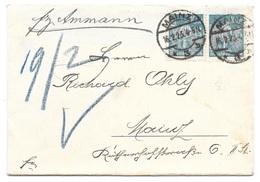 Mainz - Deutsches Reich - Lettre -  Vers Mainz, Mi. 239; 1922 - Allemagne