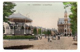 CPA AUDENARDE / OUDENAARDE : Grand'Place Couleur, Circulée En 1911 - Ed. Grand Bazar Anspach - Oudenaarde