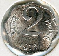 Inde India 2 Paise 1975 (h) KM 13.6 - Inde