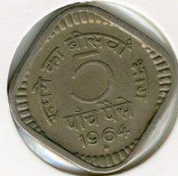 Inde India 5 Paise 1964 (b) KM 17 - Inde