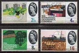 GREAT BRITAIN 1964 20th International Geographical Congress (ordinary) - 1952-.... (Elizabeth II)