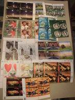 Sammlung UNO Wien VIERERBLOCK 2007-2013 Sauber Gestempelt, Eckrand (8177) - Wien - Internationales Zentrum