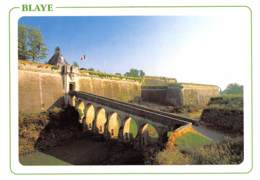 33 BLAYE  La Citadelle VAUBAN La Porte Dauphine Et Tour De L'horloge  42 (scan Recto Verso)MF2768VIC - Blaye