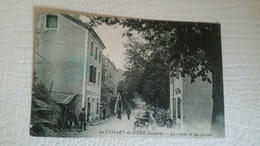 B4/ LE COLLET-DE-DEZE- La Route Et Les écoles - France