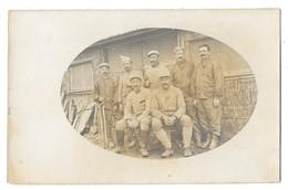 CAMP DE ZEITENLIK  (Grèce) Guerre 1914-18 Carte Photo Groupe De Militaires Français - Grèce