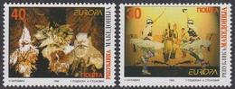 EUROPA 1998 - Macédoine - 2 Val Neufs // Mnh - Europa-CEPT