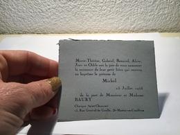 Carte De Visite Saint Martin Coailleux - Visiting Cards