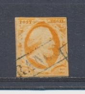 Nederland/Netherlands/Pays Bas/Niederlande/Paesi Bassi 1852 Mi: 3 Yt: 3 Nvph: 3 (Gebr/used/obl/o)(4313) - Gebruikt