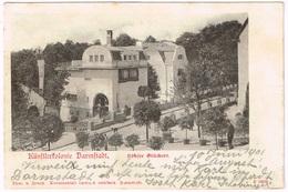 DARMSTADT 1901 Künstlerkolonie Häuser Glückert - Darmstadt