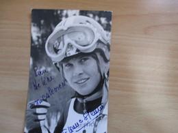 Photo Dedicacee De La Skieuse Florence Steurer - Autogramme & Autographen