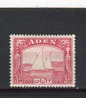 ADEN - Y&T N° 6* - Boutres - Aden (1854-1963)