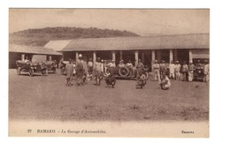 MALI - BAMAKO Le Garage D'automobiles - Mali