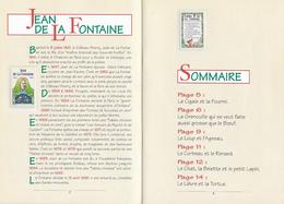 LIVRET - SIX FABLES En TIMBRES - Jean De La Fontaine Série N°2958 à 2963 - 1995 - Autres