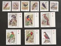 Zambia  Birds LOT - Zambia (1965-...)