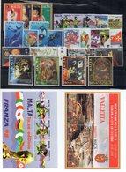 Malta - 1998 - Lotto 26 Francobolli + 2 Foglietti (Annata Completa) - Nuovi - Vedi Foto - (FDC14639) - Malte