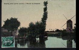45, Noyers Par Lorris, Moulin Du Pisserot, Carte Toilée - France