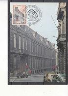 1843 Athenée Royal Jules Bordet à Bruxelles - Cartes-maximum (CM)