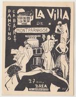 La Villa Paris 27 Rue Brea, Montparnasse Dancing Cabaret 1937 - Paris La Nuit