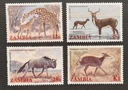 Zambia  1983 Animals - Zambia (1965-...)