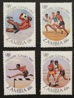 Zambia  1984 Summer Olympics - Zambie (1965-...)