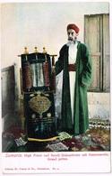 Judaica: SAMARIA 1900 Rabbi With Torah - Judaisme
