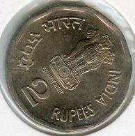 Inde India 2 Rupees 1999 (b) KM 121.5 - Inde