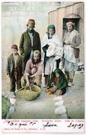 Judaica: JERUSALEM 1907 Jemenite Jews - Judaisme