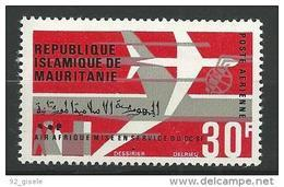 """Mauritanie Aerien YT 62 (PA) """" Air Afrique """" 1966 Neuf** - Mauritanie (1960-...)"""
