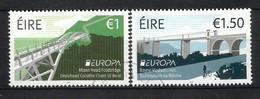 Irland / Eire 2018 , EUROPA CEPT Brücken - Gestempelt / Used / (o) - 2018