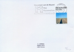 Netherlands 1990 Thincard With Special Cancel Kornwerderzand Casemate Museum - Seconda Guerra Mondiale