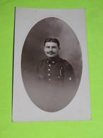 PHOTO Carte Postale MILITAIRE Vers 1914 Soldat Guerre / 11 - Guerra, Militari