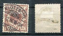 Deutsches Reich Michel-Nr. 50d Vollstempel - Geprüft - Oblitérés