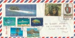 LETTERA 1983 POLINESIA FRANCESE (EX717 - Polinesia Francese