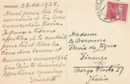 CARTOLINA CECOSLOVACCHIA 1934 SMOLENICE (EX739 - Storia Postale
