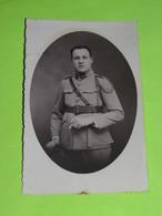 PHOTO Carte Postale MILITAIRE Vers 1940 Soldat  / 12 - Krieg, Militär