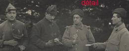 Carte Photo-à Trestraou (Bretagne) En 1915-des Soldats Samusent - Krieg, Militär