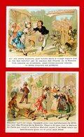 Aux Phares De La Bastille, Joli Lot De 2 Chromos, Lith. Th. Dupuy, Enfants - Autres