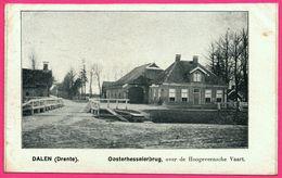 Dalen - Oosterhesselerbrug Over De Hoogeveensche Vaart - ** Apparemment Carte Contrecollée - Fabrication Maison ** - Nederland