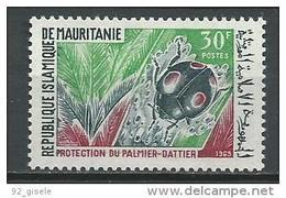 "Mauritanie YT 268 "" Protection Du Palmier "" 1969 Neuf** - Mauritanie (1960-...)"