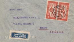 LETTERA 1940 PORTOGALLO TIMBRI PORTO LISBOA TORINO (EX808 - Lettere